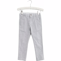 WHEAT-Trousers Otto bukser greyBlue strib