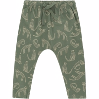 Soft Gallery - Faura Pants // Green Bay AOP Leoline