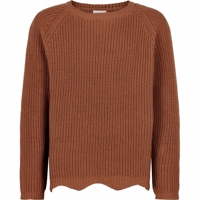 The New - Olly Knit Sweater // Mocha Bisque