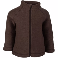 Mikk-Line - Wool Baby Jacket // Puce Brown