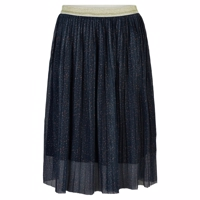 The New - SYBIL PLEAT MESH SKIRT Nederdel//Navy Blazer