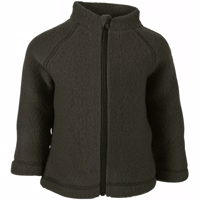 Mikk-Line - Wool Baby Jacket // Black Olive