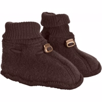 Mikk-Line Uld Booties, Puce Brown