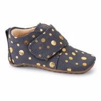 PomPom Starter Navy Gold Dot