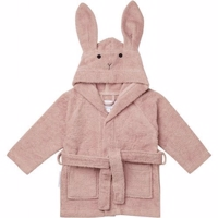 Badekåbe Lily Rabbit 1-2 år Rose