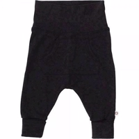 Muesli Cozy me pocket pants - Dark grey melange