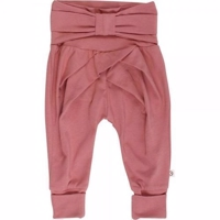 Muesli Cozy me bow pants - Dream rose