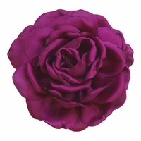 Little Olga silke rose Fuscia 9 cm