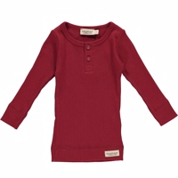 Marmar bluse/t-shirt LS unisex Red