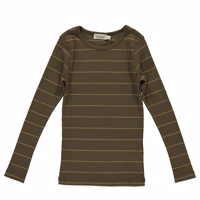 MarMar - Tani T-shirt // Golden Olive Stripe