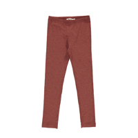 MarMar Lisa, Lurex Melange Leggings // Cranberry Shimmer