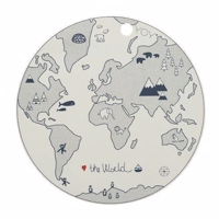 "OYOY ""PLACEMAT"" THE WORLD"