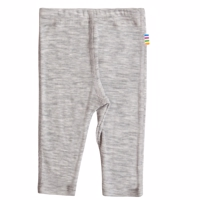 Joha, Uld/Silke Leggings, Silver grey