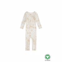 Mini Splash Ben Bodysuit, Fluffy Sky Cream