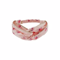 Soft Gallery Wrap Hairband - Pale Dogwood, AOP Rosebud