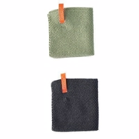 OYOY Dishcloth - 2 stk - Pale Mint & Grey