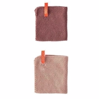 OYOY Dishcloth - 2 stk - Vanilla & Rose