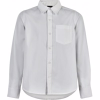 The New - SHIVER LS Shirt Skjorte // Bright white