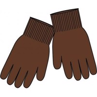 Mikk-Line - Magic Gloves Knit // Madder Brown