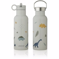 Liewood Neo vandflaske Dino dove bluemix 500 ml NYHED!