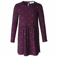 Rosemunde Dress Bourgogne golden dot