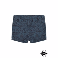 Soft Gallery Don Swim Trunk - Orion Blue AOP Owl