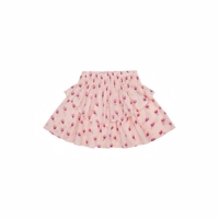 Soft Gallery Lulu Skirt - Pale Dogwood, AOP Rosebud
