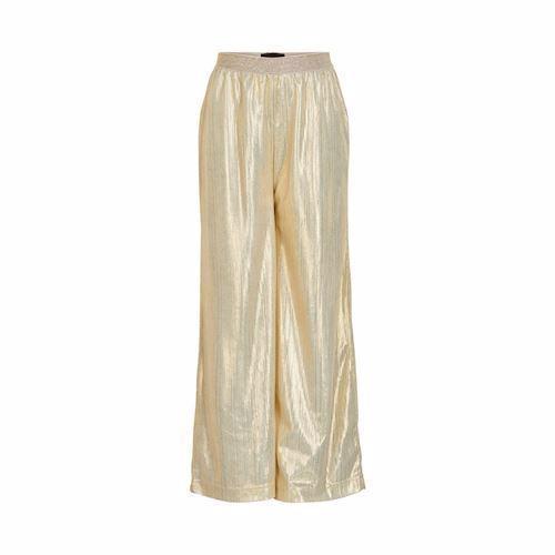 mode stilarter nyeste samling hurtig levering Creamie Pants Gold