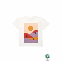 Soft Gallery Dharma T-shirt, Garden Scenery