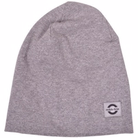 Mikk-Line COTTON Hat Lurex - Light Grey Melange