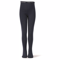 Melton, Basic Tights -uld/ bomuld Marine blå
