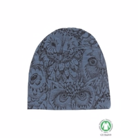Soft Gallery Owl Beanie 1-3 år  - Orion Blue ØKO