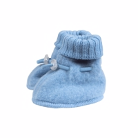 Joha Wool, Sleeping Booties, Allure lys blå