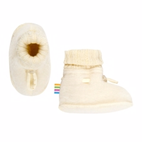 Joha Wool, Sleeping Booties, Natur