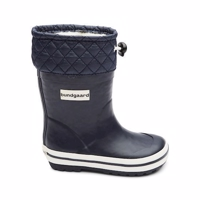Bundgaard, Sailor termo Rubberboot med Uld NAVY BLÅ