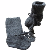 MyAlpaca Angel boots 13- grey