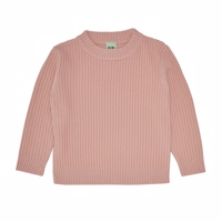 FUB - Purlrib Sweater // Pale Pink