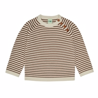 FUB - Sweater // Ecru/Umber