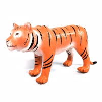 Green Rubber Toys - tiger