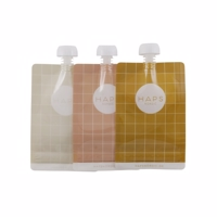 Haps Nordic - Smoothie Bag, 3 Pack, Warm Color