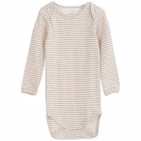 Serendipity - Baby Body Stripe // Oat