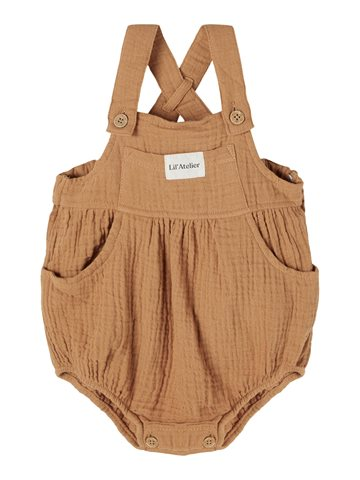 Lil' Atelier - BABY |  Sylvester Overalls // Tobacco Brown