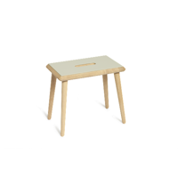 OTTO STOOL - design skammel  - soaped oak