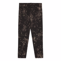 Soft Gallery - Baby Paula leggings  // Mini Splash Jet Black