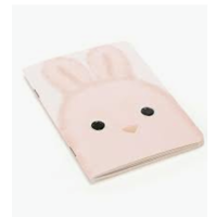 Kutie Pops Bunny A6 Note Book