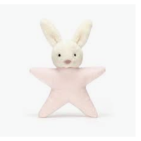 JellyCat Star Bunny Pink Rattle