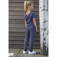 Elodiee Jumpsuit, Blossom - blue ashes