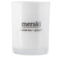 Meraki - Scented Candle Small // White Tea + Ginger