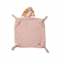 Liewood Agnete cuddle cloth - unicorn sorbet rose