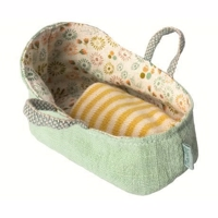 Maileg - Carry cot, My - Mint